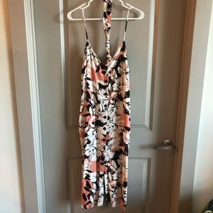 Worn Once Floral Midi Dress
